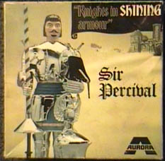 Aurora SIR PERCIVAL  Knights in shining armor modelkit box