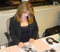 Adams Family: Lisa Loring - Wednesday Signed Photo