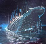 Titanic Sinking For Sale