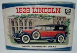 MPC 1928 Lincoln Model kit for sale