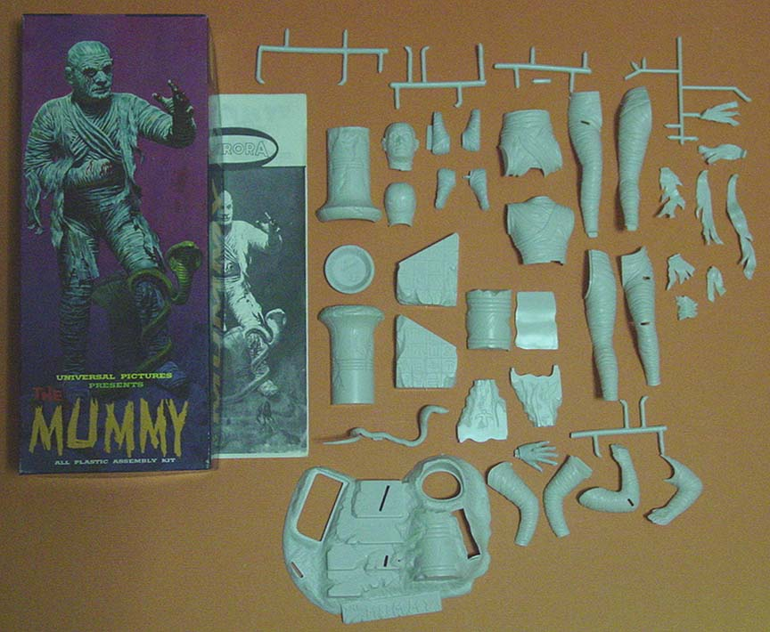 Time Machine Toys & Collectibles, Aurora Plastics Original